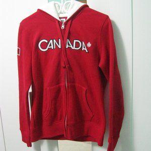 Red Canada Olympic Hudson Bay Hoodie - Medium